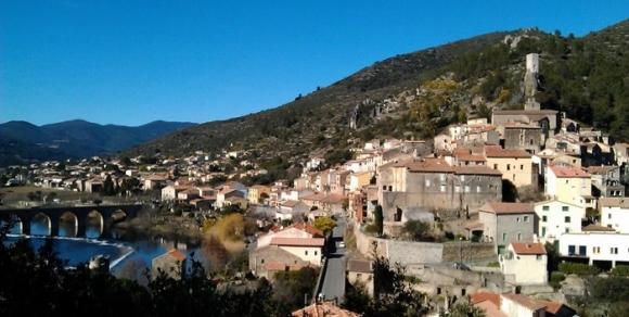 Roquebrun - Hérault, le Languedoc © Photothèque Hérault Tourisme - E. Brendle