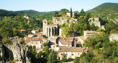 Mourèze - Hérault, le Languedoc - © Photothèque Hérault Tourisme - E.Brendle